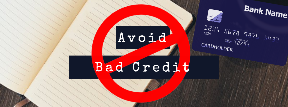 How to avoid bad credit