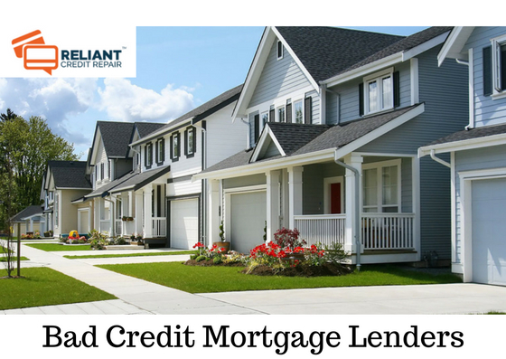 Bad Credit Mortgage Lenders