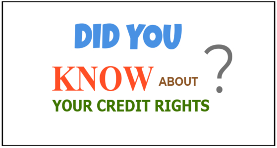 Your Credit and Your Rights