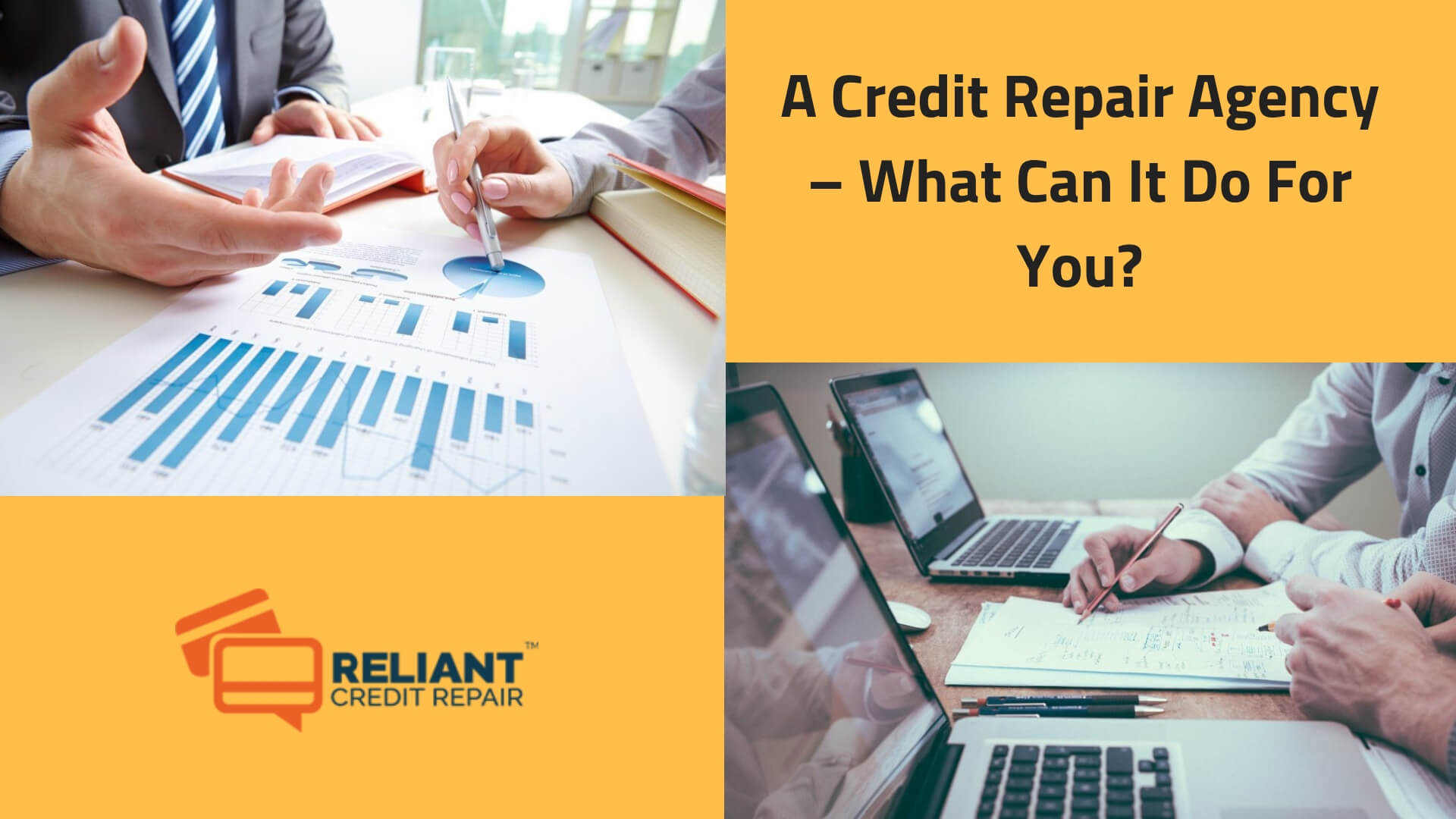 A Credit Repair Agency – What Can It Do For You