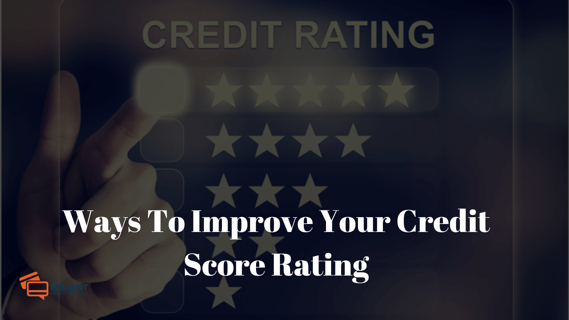 Improve Your Credit Score Rating