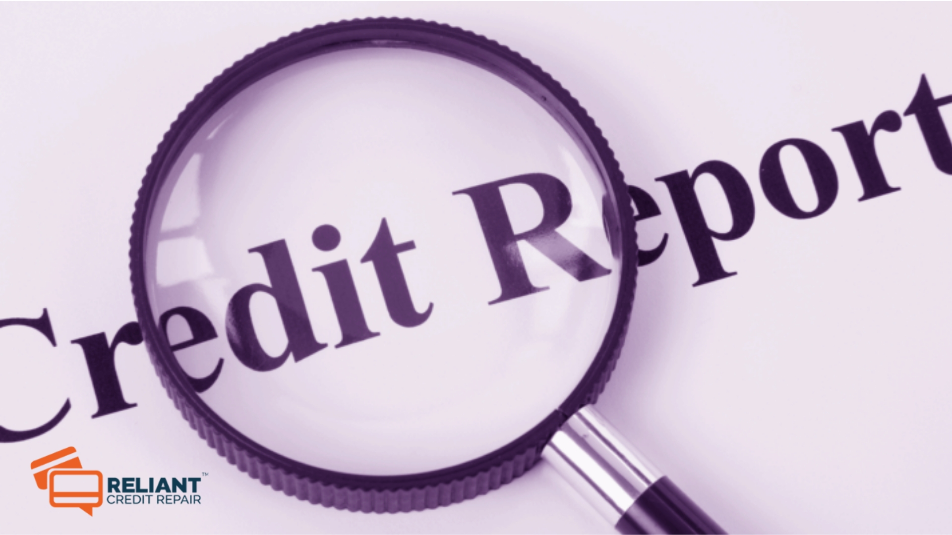 Repairing Your Credit Report
