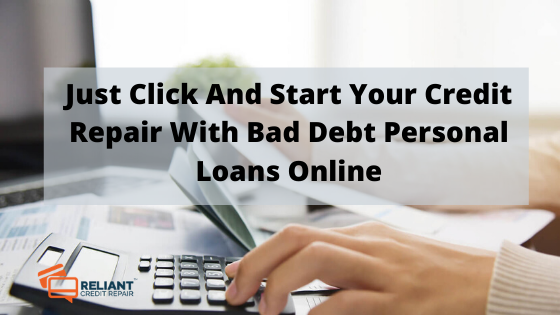 Bad Debt Personal Loans Online