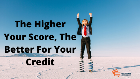 good credit score range